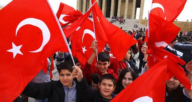 23 de Abril -Feriado na Turquia  23 of April - Holiday in Turkey 23 NISAN COCUK BAYRAMI