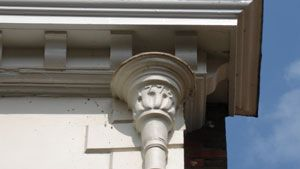 41 Best Images About Gutters Scuppers Amp Downspouts On