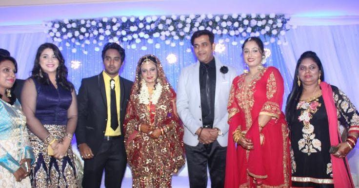 रवि किशन और खेसारी लाल यादव पहुचे रानी चटर्जी के भाई दौलत के रिसेप्सन पार्टी में  | Ravi Kishan & khesari Lal Yadav reached Rani…