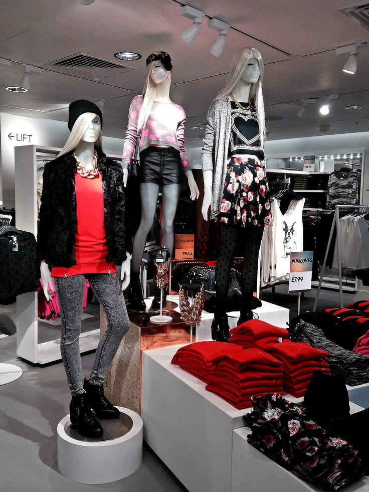 #divided #visual #creative #display #h&m | Visual ...