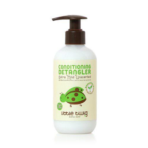 Little Twig All Natural Hypoallergenic Extra Mild Conditioning Detangler for Sensitive Skin Unscented 85 Ounce Bottle ** Want to know more, click on the image.