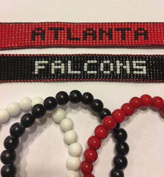 Pulsera de halcones de Atlanta pulsera de halcones pulsera