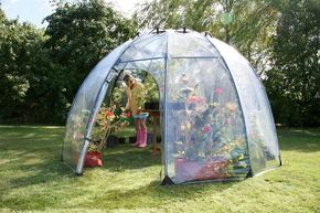 Sunbubble Greenhouse - Small Greenhouse - Pop Up Greenhouse More