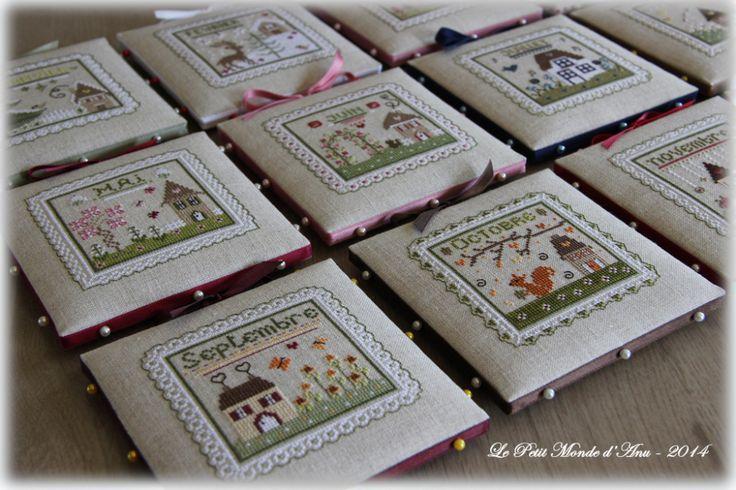 Pinkeeps Mois de l'année | Le Petit Monde d'Anu