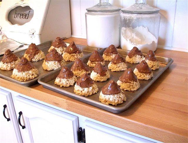 Meridian Road: Rice Krispy Treat Kisses~RePost | Dessert ...