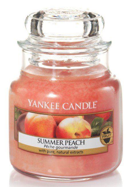 Pêche d'été - Bougie parfumée petite jarre - Yankee Candle