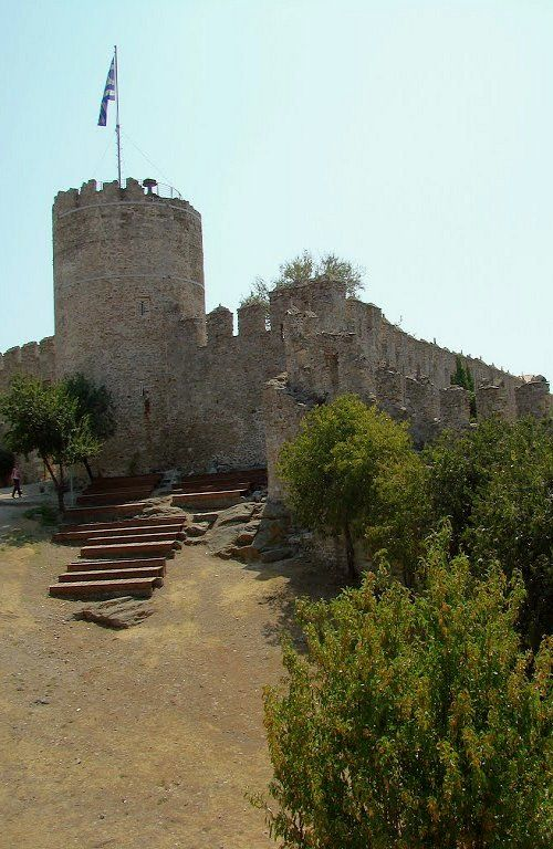 Byzantine Fortress, Kavala Town, Greece