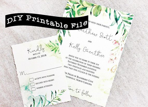 The 25+ best Wedding invitation format ideas on Pinterest Diy - format for invitation