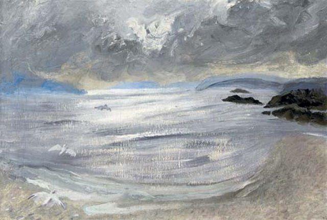 Over The Sea To Eigg   Winifred Nicholson