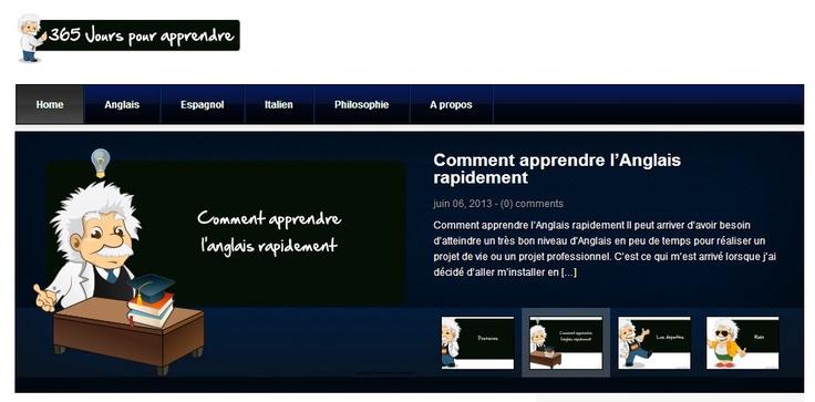 365 Jours pour Apprendre - Cours d'anglais gratuits en ligne, espagnol, italien, philosophie gratuits