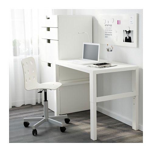25 best ideas about ikea schreibtisch wei on pinterest. Black Bedroom Furniture Sets. Home Design Ideas