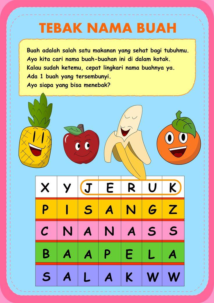 salah satu media yang digunakan untuk  membimbing minat baca dan belajar anak usia dini - biMBA AIUEO