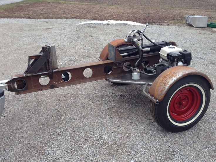 Rat rod log splitter!