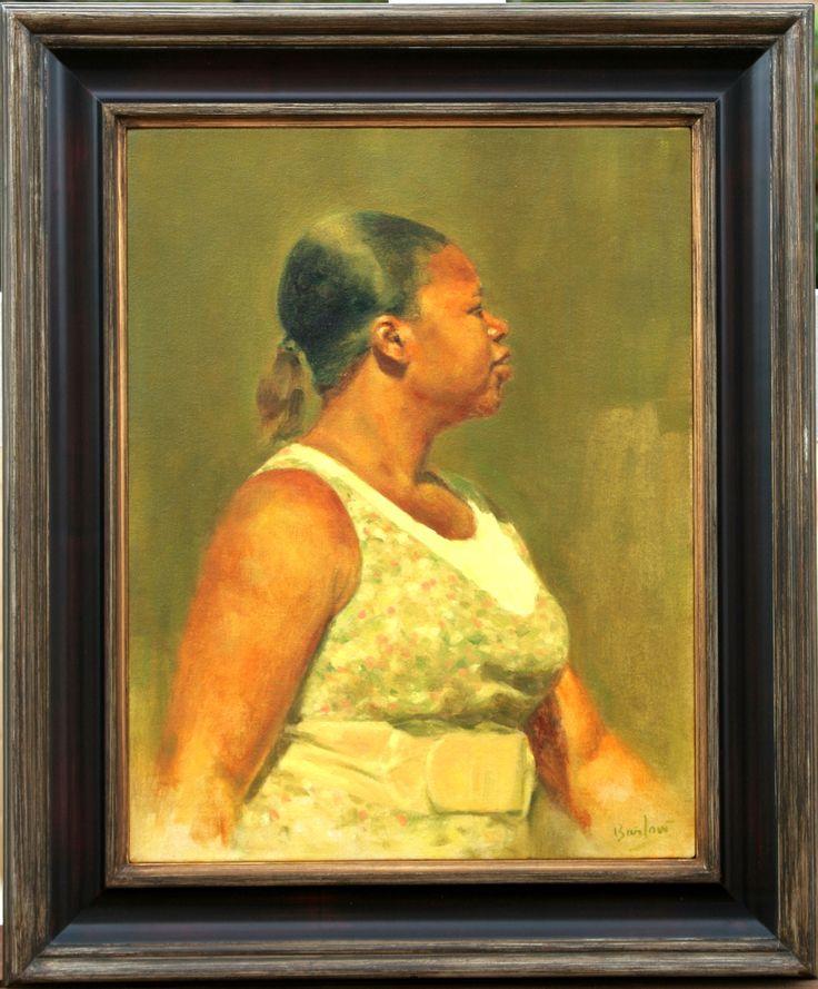 Dancer, oil on canvas