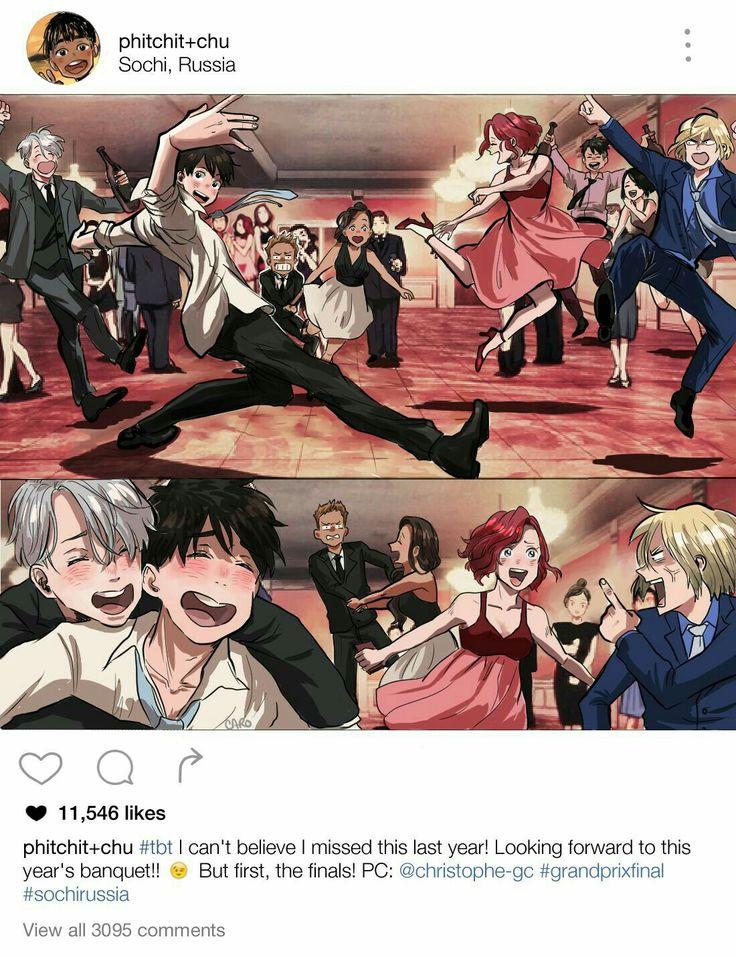 Wow Viktor n Yuri at the end tho