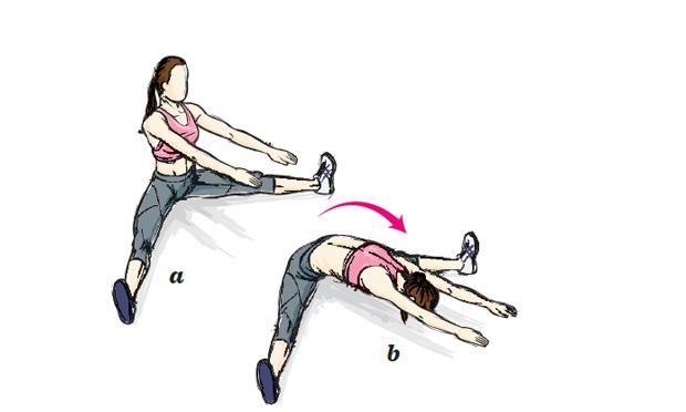 Exercício Barriga Chapada em 8 passos ( Pilates )