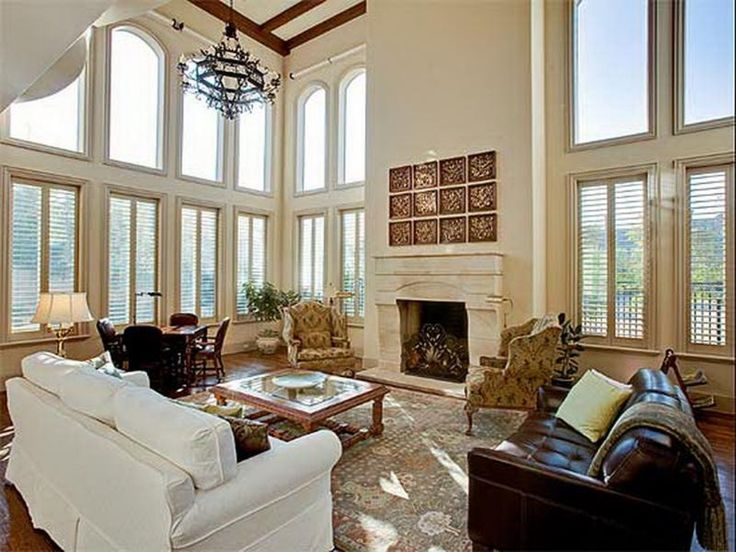 inspiring design ideas family room decorating with high ceiling