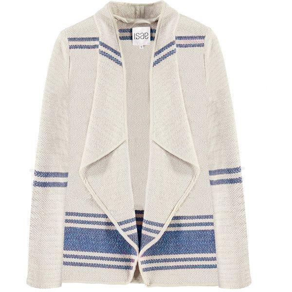 ISAE STUDIO Lena kimono jacket ❤ liked on Polyvore featuring outerwear, jackets and kimono jacket