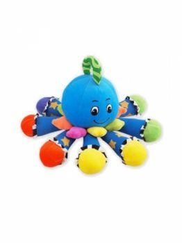 Plyšová hračka sa zvukom Chobotnička modrá