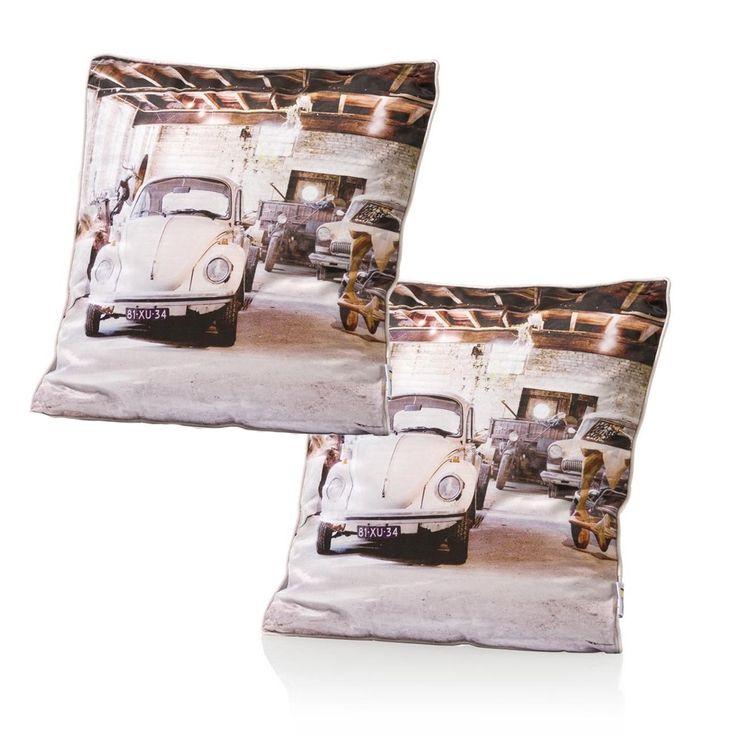 2 beetle kussens van COCO maison shop je zonder verzendkosten en snel bij deleukstemeubels.nl | Deleukstemeubels.nl