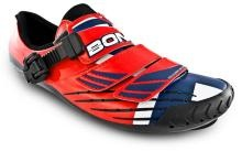 Bont has launched a Thor Hushovd signature shoe to celebrate the Norwegian's success.