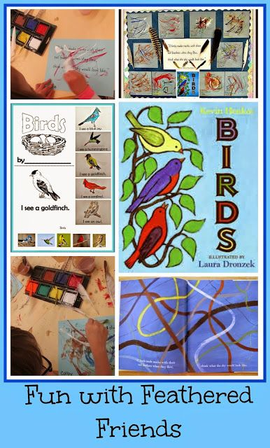 Fun with Feathered Friends: Birds, Nests, and Freebies! Great post!