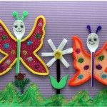 spoon butterfly craft for kids