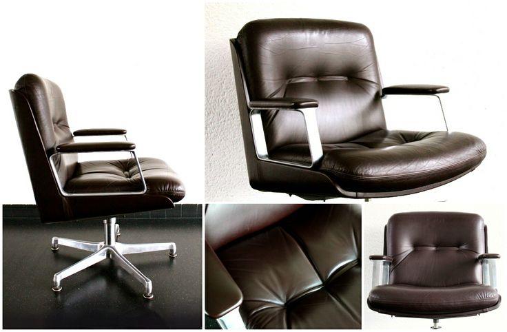Top 3 woonspullen op zondag   Op twee staat deze super unieke en luxueuze #office #chair van het Italiaans merk #Vaghi. De comfortabele dikke kussens zijn van chocolade bruin leer waarin je heerlijk kunt wegdromen!
