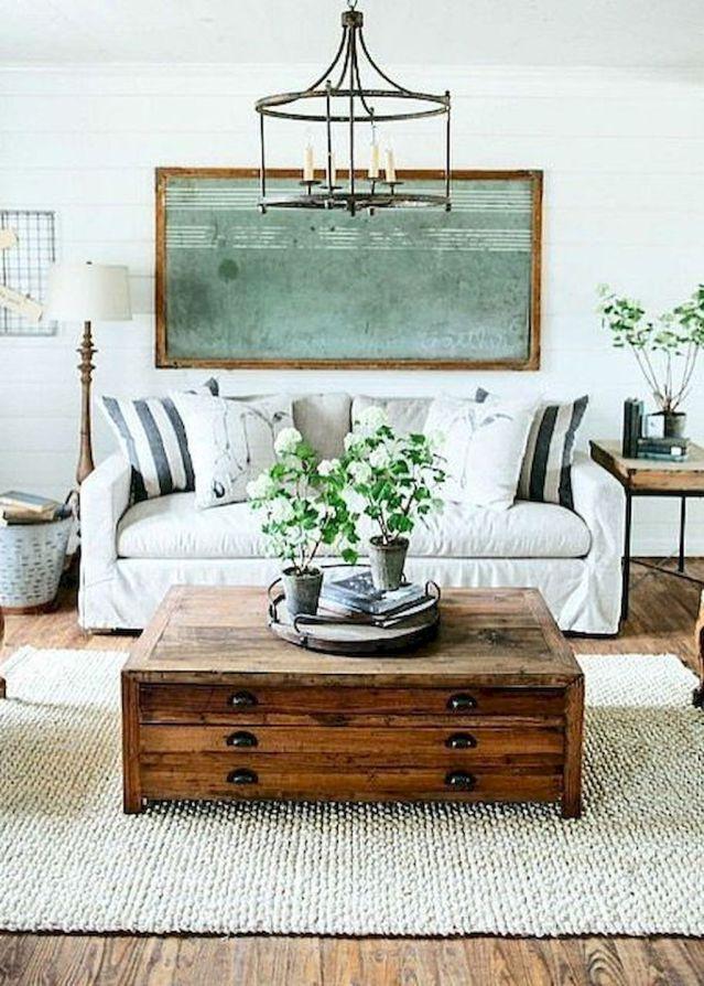 40 Cozy Living Room Decorating Ideas: 40 Best Cozy Farmhouse Living Room Decor Ideas