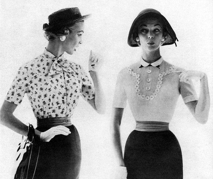 hourglass feminine vintage blouses