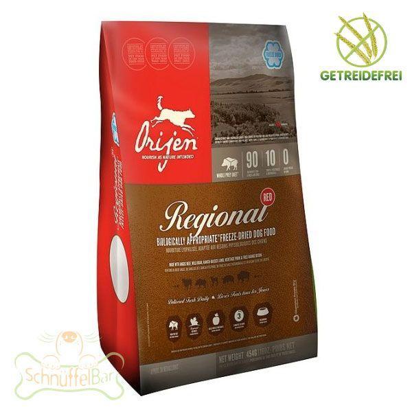Orijen Dog Regional Red gefriergetrocknet - 170g