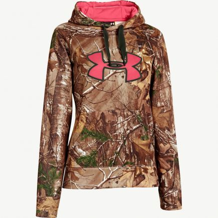 Oh yea!!!  Women's Under Armour Realtree Xtra Camo Big Logo Hoodie #Realtreecamo