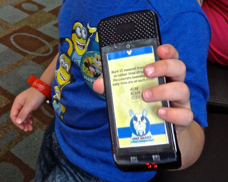 The Pager at Chef Mickey's Complete with Disney Trivia - Read the Restaurant Review Here!