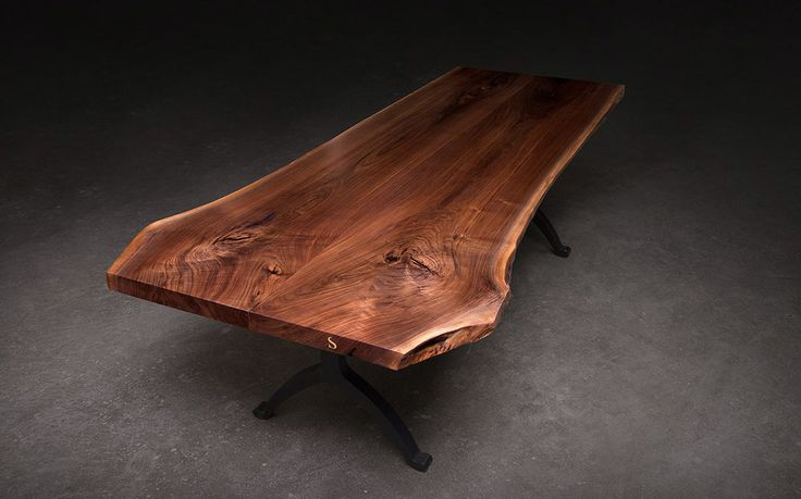 SENTIENT Live Edge Table