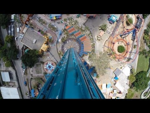 Falcon's Fury Busch Gardens Tampa - Experience 335ft Face-First Drop Ride