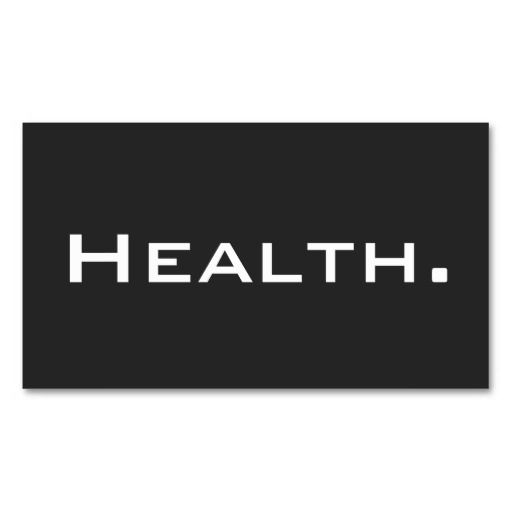 Health Professional Business Card- Modern No.3 | Nurse