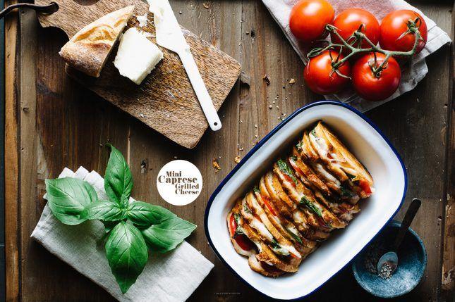 ホームパーティやピクニックにもおすすめ!『ミニカプレーゼのグリルチーズサンド』レシピ i am a food blog by Stephanie Le