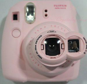 New Pink Close Up Lens Instax Mini 7S 8 Rotary Mirror for Fuji Polaroid Camera | eBay