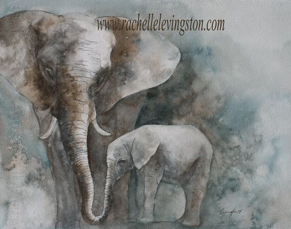 nursery art print Safari Nursery PRINT SET by rachellelevingston