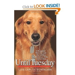 Until Tuesday- Fabulous book about an incredible dog and the sacrifice of our American soldiers.