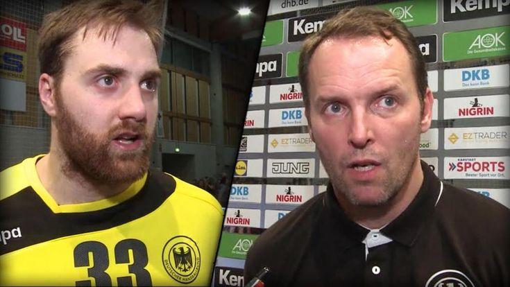 Bundestrainer Dagur Sigurdsson und Torhüter Andreas Wolff über den Testsieg gegen Österreich und das erste WM-Spiel gegen die Ungarn am Freitag.