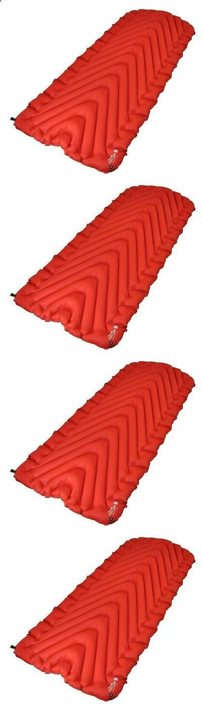 Camping Mats - Mattresses and Pads 36114: Klymit Insulated Static V Luxe Red Sleeping Pad Camping Mat 06Lird01d Brand New -> BUY IT NOW ONLY: $99.99 on eBay! http://campingtentlover.com/beginners-camping-guide/