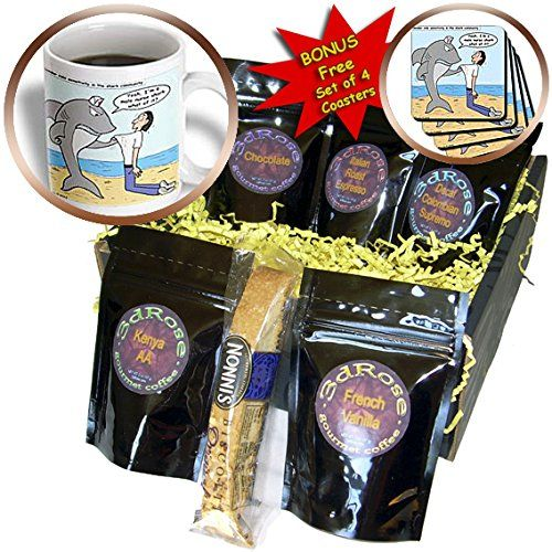 Rich Diesslins Funny General  Editorial Cartoons  Male Nurse Shark  Coffee Gift Baskets  Coffee Gift Basket cgb_2774_1 <3 Click the VISIT button for detailed description
