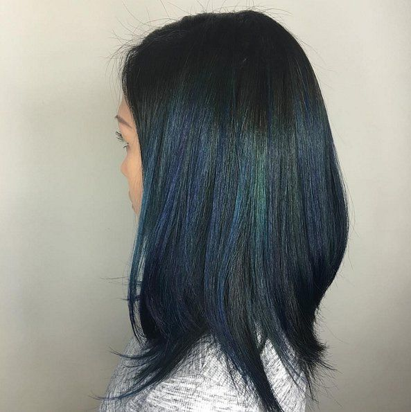 """""""peacock"""" color-- i want to color my hair!!! this is not too ostentatious..."""