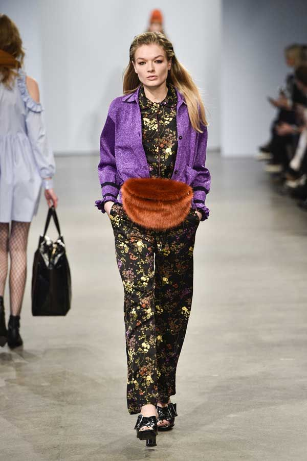 With love from Copenhagen The style barometer from Copenhagen Fashion week indicates color for A/W 2017 http://www.infurmag.com/with-love-from-copenhagen/
