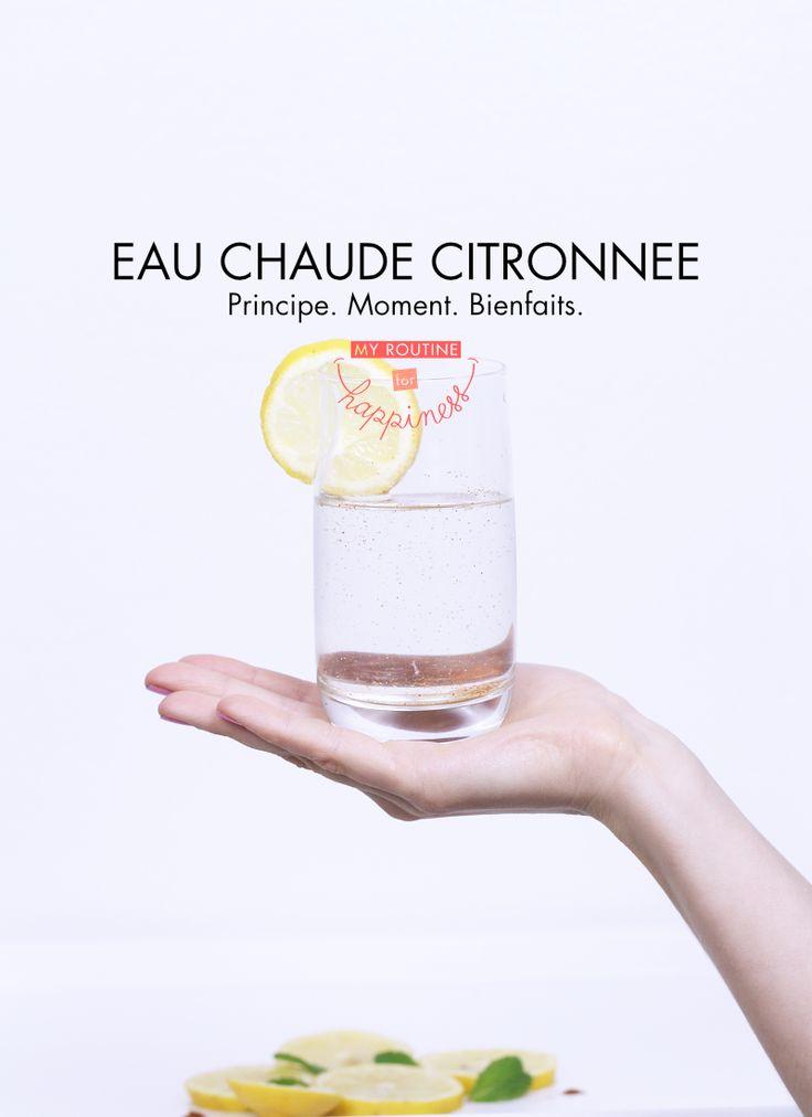 Découvrez les bienfaits de boire une eau chaude citronnée au piment de cayenne chaque matin. www.myroutineforhappiness.com #routine #habitude #detox