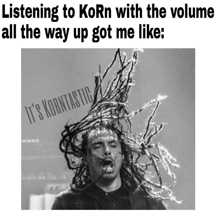 """""""Headbanging and singing along all at once! """"Here to Stay"""" does it everytime! \m/ ============================== @korn_official @korn_memes…"""""""