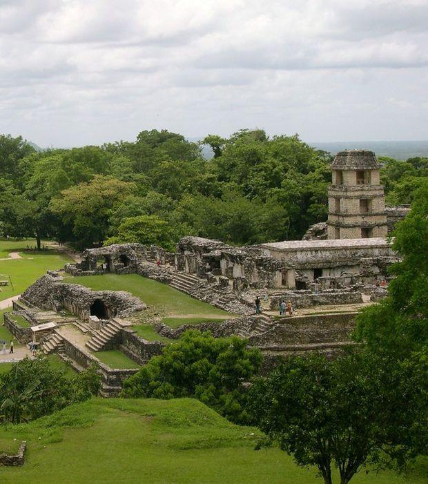 Mexique - Ruines Mayas de Palenque