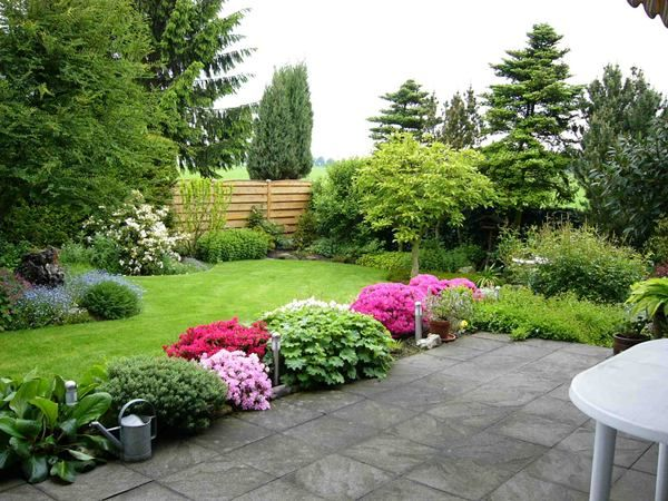 98 best jardines images on pinterest landscaping - Disenos de jardines exteriores ...
