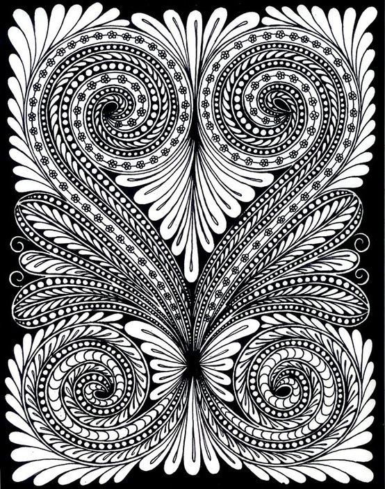 Tangles- this looks like a good illustrator pattern to try